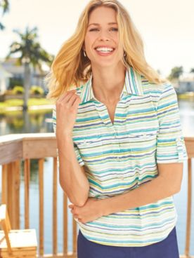 Sanibel Pullover Top
