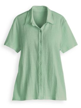 Knit Gauze Shirt