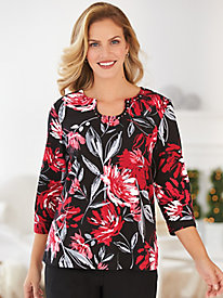 Alfred Dunner® Exclusive Print Top