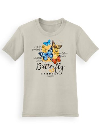 Signature Graphic Tee - Butterfly