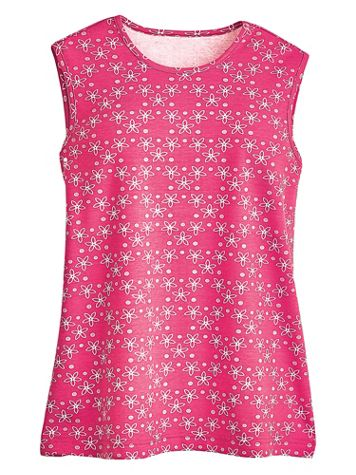 Print Essential Knit Tank - Image 0 of 1