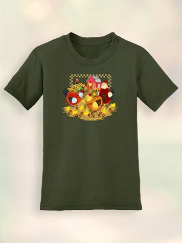 Signature Graphic Tee - Chickens