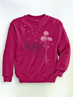Signature Graphic Sweatshirt - Dandelion