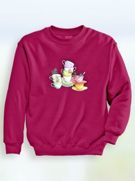 Signature Graphic Sweatshirt - Cups
