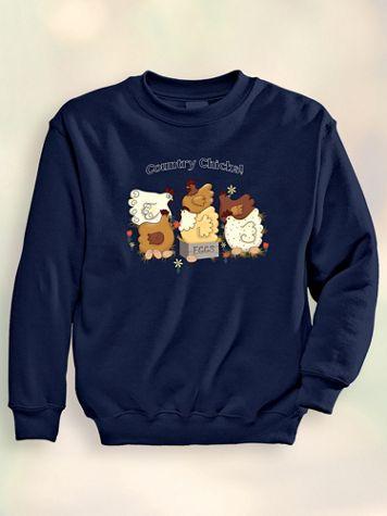 Signature Graphic Sweatshirt - Chicks