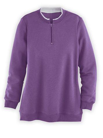Layered Look Sweatshirt  - Image 1 of 4
