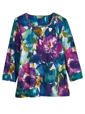 Alfred Dunner® Floral-Print Top
