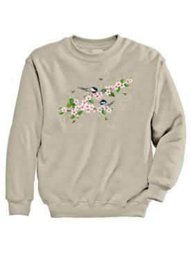 Signature Graphic Sweatshirt - Chickadee