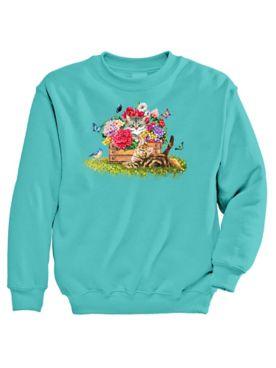 Signature Graphic Sweatshirt - Box