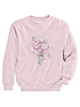 Signature Graphic Sweatshirt - Bouquet