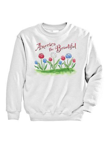 Signature Graphic Sweatshirt - Beautiful