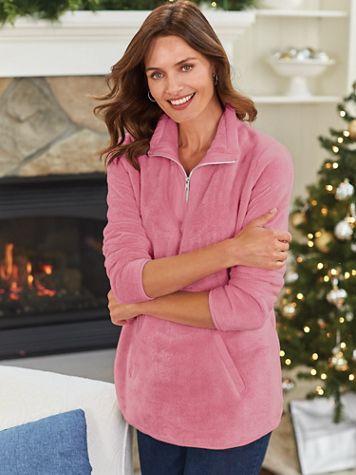 Cozy Minky Fleece Tunic - Image 1 of 2