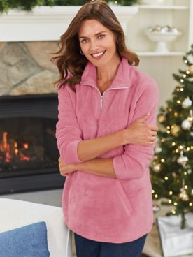 Cozy Minky Fleece Tunic
