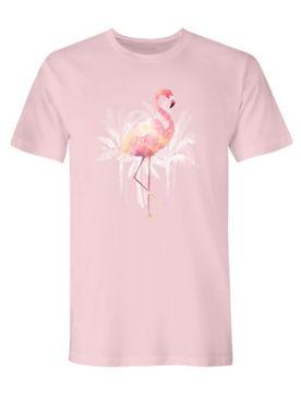 Signature Graphic Tee - Flamingo