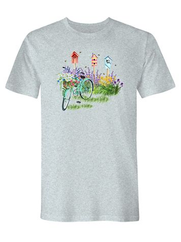 Signature Graphic Tee-Bicycle