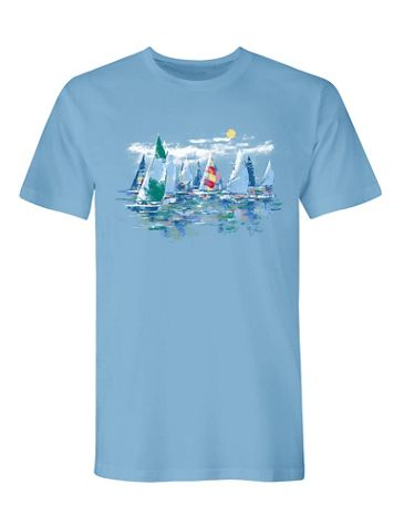Signature Graphic Tee-Regatta
