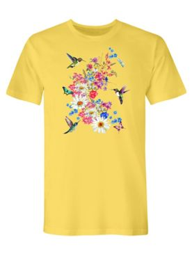 Signature Graphic Tee-Hummingbird