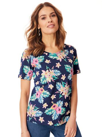 Short-Sleeve Stretch Tee - Image 1 of 7
