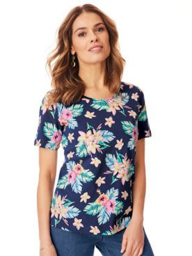 Short-Sleeve Stretch Tee