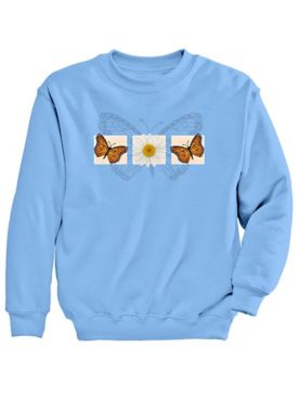 Signature Graphic Sweatshirt-Monarch