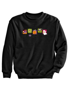 Signature Graphic Sweatshirt-Halloween
