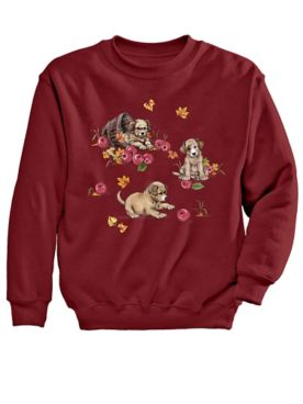 Signature Graphic Sweatshirt-Buddies