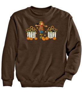Signature Graphic Sweatshirt-Scarecrow
