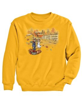 Signature Graphic Sweatshirt-Harvest