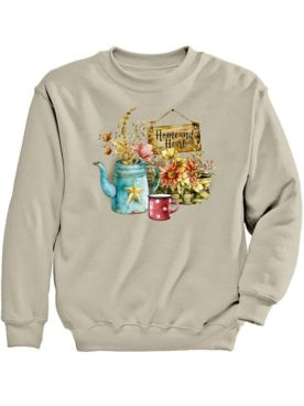 Signature Graphic Sweatshirt-Home