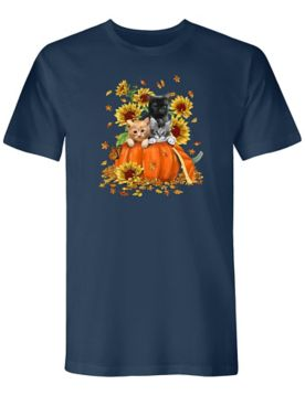 Signature Graphic Tee-Pumpkin