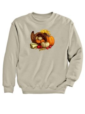 Signature Graphic Sweatshirt-Cornucopia
