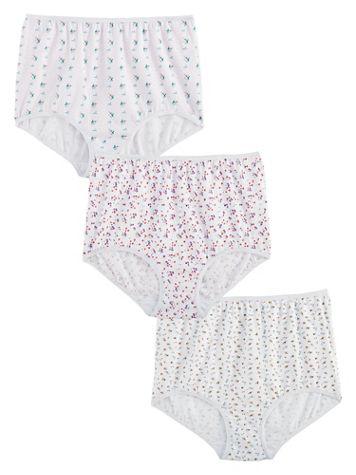 3-Pack Cotton Print Panties - Image 1 of 1