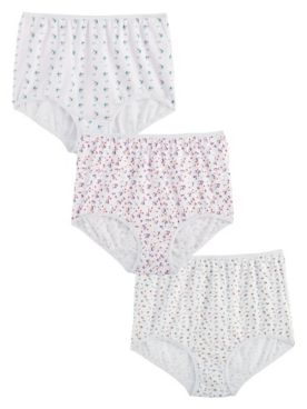 3-Pack Cotton Print Panties