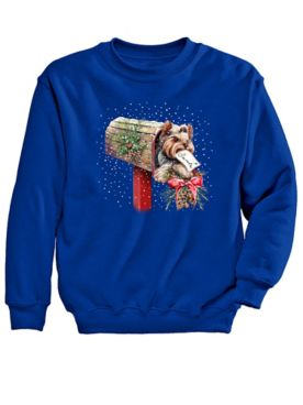 Graphic Sweatshirt-Yorkie