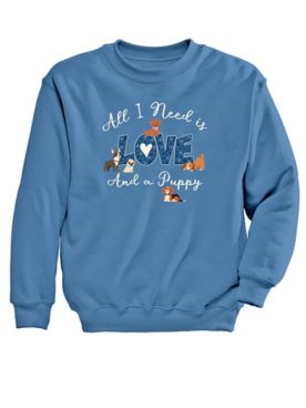 Graphic Sweatshirt-Love