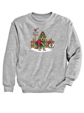 Graphic Sweatshirt-Puppy