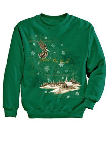 Angel Graphic Sweatshirt - Image 2 of 2