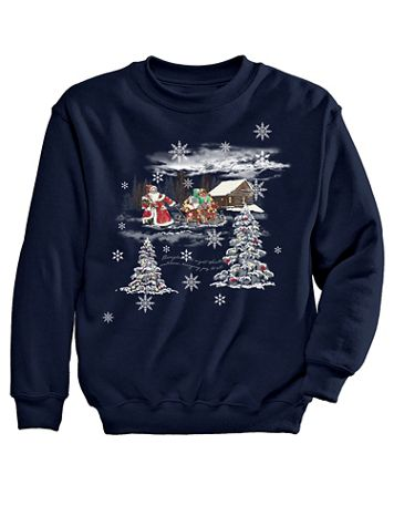 Sled Graphic Sweatshirt - Image 2 of 2