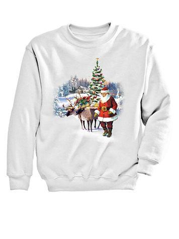Deer Graphic Sweatshirt - Image 2 of 2