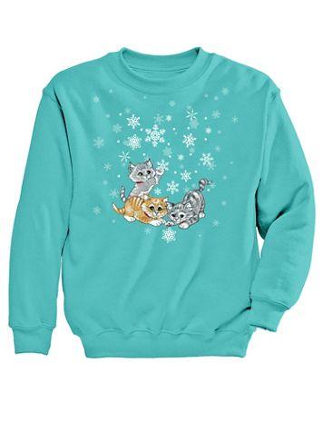 Graphic Sweatshirt-Playful - Image 2 of 2