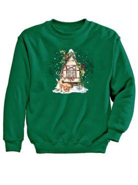 Graphic Sweatshirt-Home