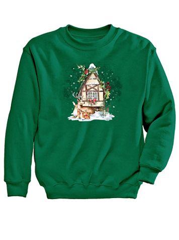 Graphic Sweatshirt-Home - Image 2 of 2