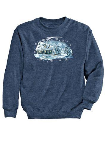 Graphic Sweatshirt-Winter - Image 2 of 2
