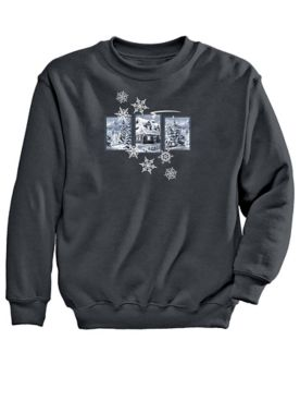 Graphic Sweatshirt-Cabin