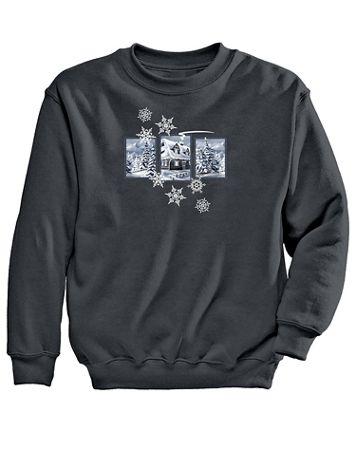 Graphic Sweatshirt-Cabin - Image 2 of 2