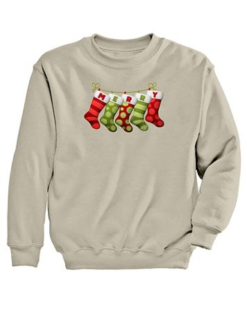 Stockings Graphic Sweatshirt - Image 2 of 2