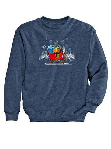 Gifts Graphic Sweatshirt - Image 2 of 2