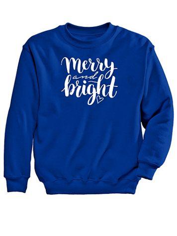 Merry Graphic Sweatshirt - Image 2 of 2