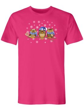 Graphic Tee-Owls