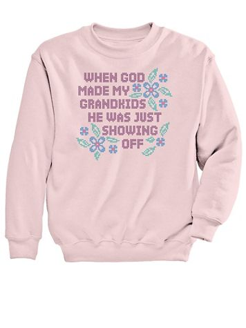 Graphic Sweatshirt-Grandkids - Image 2 of 2